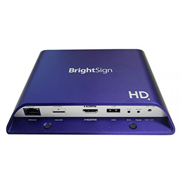 BrightSign HD1024 | Full HD Expanded I/O HTML5 Commerical Display Media Player
