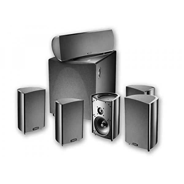 Definitive Technology ProCinema 600 5.1 Home Theater Speaker System (black)