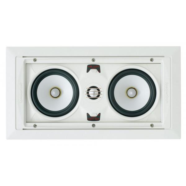 SpeakerCraft AIM LCR 3 In-Wall Speaker - Each (White)