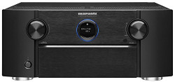 Marantz SR7011 9.2 Channel Full 4K Ultra HD AV Receiver with built-in HEOS wireless technology featuring Bluetooth and Wi-Fi