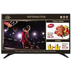"""LG, EOL, REFER TO 55UT640S0UA, LARGE FORMAT MONITOR, 1920X1080, 1 RR, 1 SIDE HDM"""