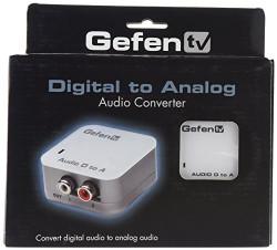 Gefen Digital Audio To Analog Audio Adapter/Converter (GTV-DIGAUD-2-AAUD)