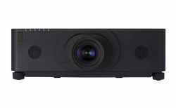 Hitachi CP-WU8700B Projector Lens Sold Separately- Black