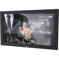 SunBriteTV 32-Inch Pro Outdoor Digital Signage - Full Sun and Active Areas - Touch Screen - DS-3211MTL-BL