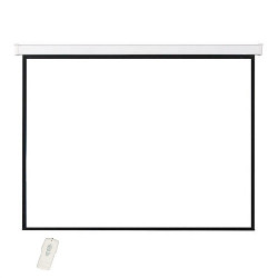 Audio Solution's Electric Projector Screen - 92 inch Diagonal Screen (ES92IN)