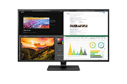 """LG 43"""" IPS UHD 4K Monitor with USB Type-C, 4 HDMI, OnScreen Control, Remote & HDCP 2.2 Compatible"""