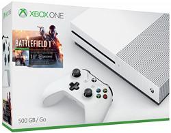 Xbox Xbox1S-500GB-Batt-BN One S Battlefield 1 Bundle (500GB)