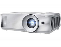 Optoma EH412ST Short Throw 1080P HDR DLP Professional Projector | Super Bright 4500 Lumens | Business Presentations, Classrooms, and Meeting Rooms | 15000 Hour Lamp Life | 4K HDR Input | Speaker Built