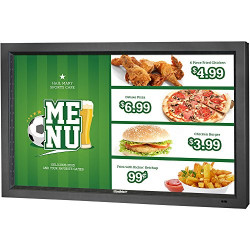 "Sunbrite TV DS-4720L-BL 47"" Marquee Series True-Outdoor All-Weather LED-LCD Digital Signage, black"