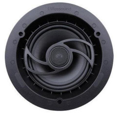 Russound RSF-620 2-Way In-Ceiling/In-Wall High Resolution Speaker with 6.5-Inch Woofer and Edgeless Grille (Black)