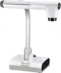 "Elmo 1379 Model TT-12W STEM-CAM Visual Presenter, Document Camera with 192x Zoom (12x Optical + 16x Digital), 1/2.3"" CMOS Sensor, 3.4 Megapixel, 30 Fps, HDMI in & Out, RGB, USB, Ethernet, Wi-Fi"