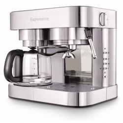 Espressione EM-1040 Stainless Steel Machine Espresso and Coffee Maker 1.5 L
