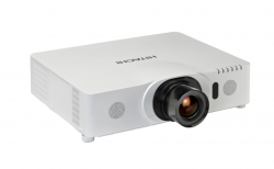 Hitachi CP WU8450 - WUXGA 1080p 3LCD Projector with Stereo Speakers - 5000 ANSI lumens