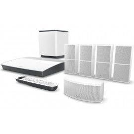 Bose Lifestyle 600 Home Entertainment System, works with Alexa, White