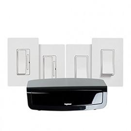 Legrand RF Lighting Control System Starter Kit, White | (LC7500-WH)