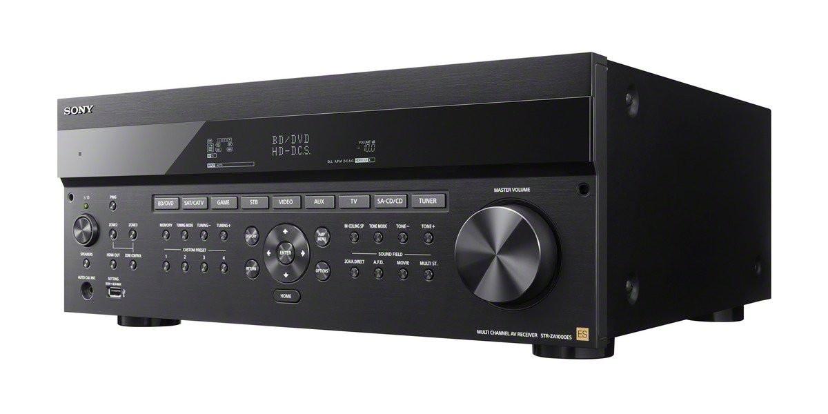 Sony Strza1000es 7 2 Channel 4k Av Receiver Black