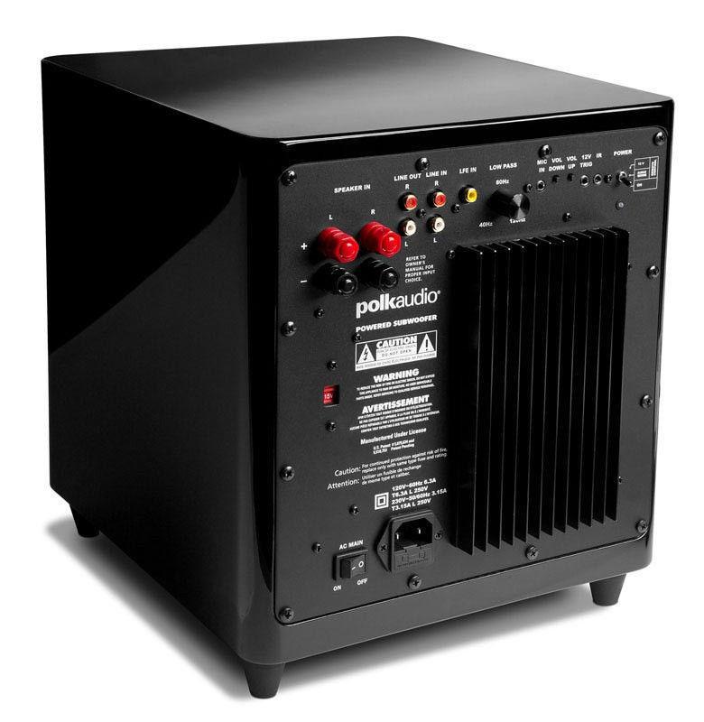 Polk Audio DSW3000 DSW MicroPRO 3000 Subwoofer (Single